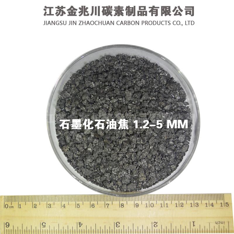 石墨化石油焦1.2-5MM
